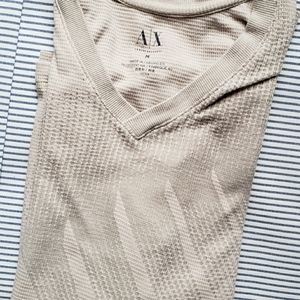 Armani Exchange Shirts - 🇺🇲 New! Men's Fitted A/X Translucent Long Sleeve